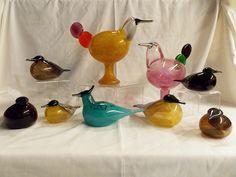 Oiva Toikka, Kiikkuri, Bird Lovers Weeknd, MOG, Tacoma, 2013 Glass Birds, Scandinavian Design, Finland, Ceramics, Glasses, Glass Art, Ceramica, Eyewear, Pottery