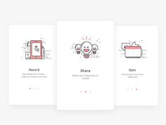 Guide page by Muting - Dribbble
