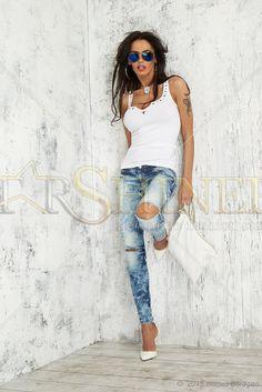 Mexton Modern Cuts Blue Jeans