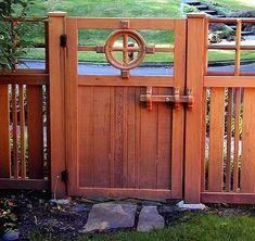 Wood Gate Latch Ideas