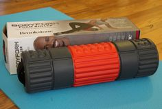 Created by Biggest Loser personal trainer Dolvett Quince, I decided to try the Brookstone BodyForm Foam Roller for myself.