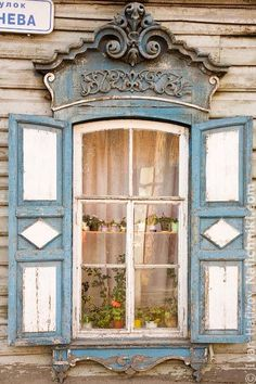 windows.quenalbertini: Pretty window somewhere in Russia | ilclanmariapia