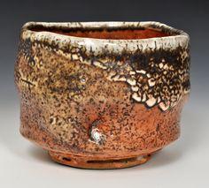 Wood-fired, Stoneware Tea Bowl #1 by John Jessiman, $125