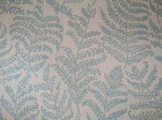 Clarke & Clarke Fougeres F0767/02 duck egg curtain fabric