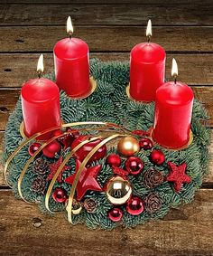 Diy Christmas Decorations, Christmas Advent Wreath, Holiday Wreaths, Christmas 2019, Christmas Crafts, Advent Candles, Drawing Quotes, Centre Pieces, Flower Delivery