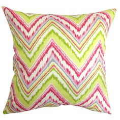 Stout Pattern: Cairo 3 Watermelon on Cora Pillow in Pink at Joss and Main.