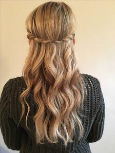 Curls twist hairband Hairstyle