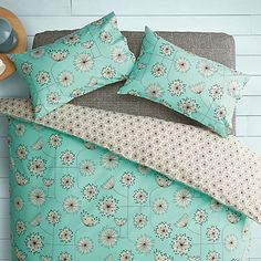 Buy MissPrint Home Dandelion Mobile Duvet Cover and Pillowcase Set Online at…