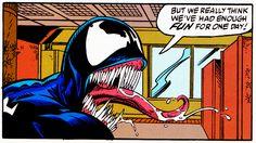 #Venom Venom 2, Mark Bagley, Evil Demons, Satan, Marvel Comics, Spiderman, March, Comic Books, David