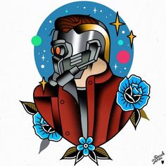 First peace from Guardians flash set is Star Lord ✨ Derick James