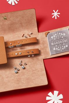Gift her an earring wardrobe that has it all. Studs, baubles, ear jackets and more.