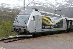 LA PASSION DU TRAIN: Locomotives 2000 (Re 460) en Norvège par Théo.