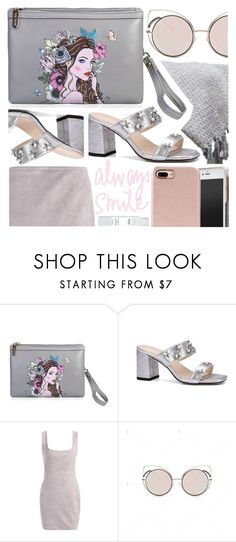 """""""Grey 'n' Grey"""" by pastelneon ❤ liked on Polyvore"""