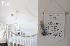Project Nursery - Nest Design Studio Leo Nursery Childrens Interior Design