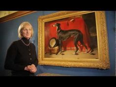 Deborah Clarke talking about the Greyhound Painting of Eos