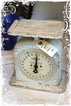 Shabby Vintage Scale