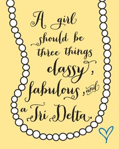 Cute to change into an ADPi theme with the pearls