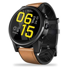 Zeblaze Thor 4 Pro Smartwatch Phone - CAMEL BROWN Watches for men luxury affordable military minimalist classy expensive rolex daytona fashion patek philippe mens black style gold seals pilots army marines soldiers heroes usmc modern simple design awesome Thor, Bluetooth, Smartwatch, Quad, Offline Music, Wifi, Global Positioning System, Apps, Social Networks