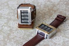 Nixie tube watch clock wrist watch self made di NixieHorizonte