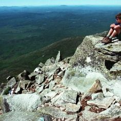 The scenery is breathtaking near the top of Mount Katahdin's Abol Trail, in Maine. The relocated part of the trail won't be as steep as the old route but will bring hikers to a ridge with sweeping views of the valley. 1997 Press Herald file