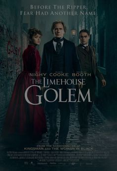 Trailer for upcoming horror movie The Limehouse Golem. Expected release September 8, 2017.  A series of murders has shaken the community to the point where people believe that only a legendary creature from dark times - the mythical so-called Golem - must be responsible. https://www.youtube.com/watch?v=MCJp8-MebGY  #horrormovies #upcominghorrormovies #newreleaseshorrormovies #scarymovies #horrorfilms #horror #thebesthorrormovieslist #scary