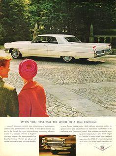 1964 Cadillac - Original Ad