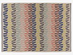 FYFE MULTI-COLOURED Wool Medium multi-coloured rug 140 x 200cm - HabitatUK