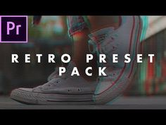 FREE Retro Look Preset Pack for Adobe Premiere Pro (how to use)   Easy Tutorial - YouTube