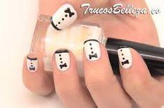 Resultado de imagen para uñas Color For Nails, Elegant Nails, Fun Nails, Nail Art, Beauty, Google, Calm, Paint, Animal