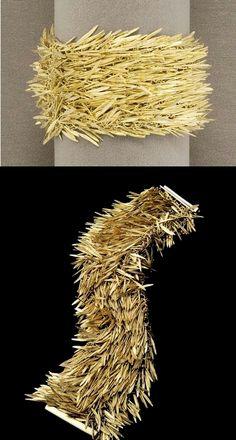 H. Stern - piel de animal, plumas