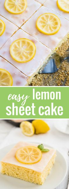 An easy lemon sheet