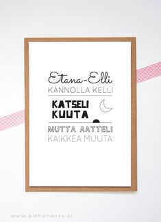Lyrics posters and postcards from € Kids Songs, Home Deco, Letter Board, Lyrics, Printables, Lettering, Poster, Postcards, Baby