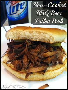 Slow-Cooked BBQ Beer Pulled Pork