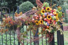 fall silk floral arrangements - Bing Images