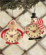 Vintage Christmas Time Ornaments