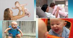 7 brincadeiras para estimular o bebê (3 a 6 meses)