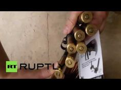 Video footage emerged from the Bani Zaid district of Aleppo, Thursday, showing the discovery of a large cache of foreign-made weapons and…