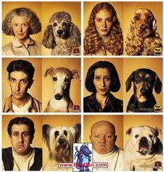 Hunde die ausehen wie ihre Herrchen? (Hunde, Besitzer, Ähnlichkeit)