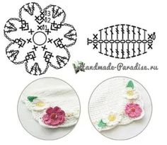 Одноклассники Crochet Leaves, Crochet Flowers, Crochet Flower Tutorial, Crochet For Kids, Yarn Crafts, Decorative Plates, Embroidery, Stitch, Handmade