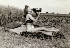 vintage everyday: Vintage Snapshots of 'Dangerous' Women from between the 1930s and 1950s