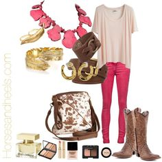A Night on the Town, created by horsesandheels.polyvore.com