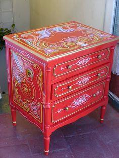 muebles fileteados - arteberlusconi