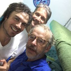 Ian Somerhalder - 08/06/14 - Tight but awesome having iansomerhalder & @GregStoneCI down at Aquarius visiting @Mission_31 today  http://pic.twitter.com/U5a0z30oS2 - Twitter & Instagram Pictures