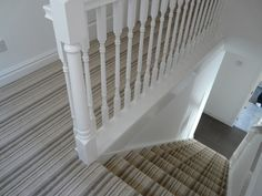 Striped stairs