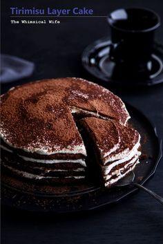 Tirimisu Layer Cake - Mmm!