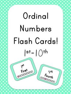 Ordinal+Numbers+Flash+Cards+from+Miss+Jill+on+TeachersNotebook.com+-++(7+pages)++-+Ordinal+Numbers+Flash+Cards+(1st-10th)+-+Polka+Dot+Theme!