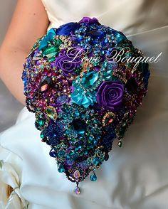 Bridal Bouquet Brooch Bouquet Wedding Dress Wedding by LoveBouquet