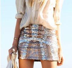 Christmas party skirt