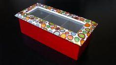 decoupage caja madera - Cerca amb Google
