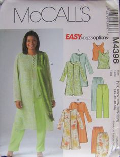 Plus Size Sewing Patterns, Mccalls Sewing Patterns, Clothing Patterns, Pattern Sewing, Pattern Drafting, Women's Clothing, Sewing Clothes Women, Clothes For Women, Doll Clothes